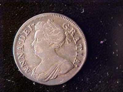 Anne Maundy Four Pence 1708