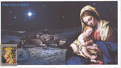 Jvc Cachets - 2016 Florentine Madonna & Child First Day Cover Fdc Christmas #2