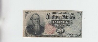 Fractional Currency Civil War Era Item fine-vf stain