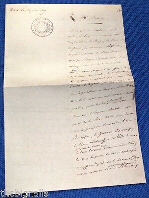 1807 Bulletin meeting of two Emperors Napoleon and Alexander