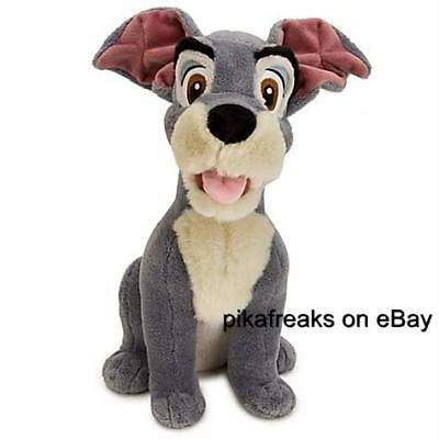 New Large Tramp Plush Lady and the Tramp Toy Disney Store Next Day USA Shipping