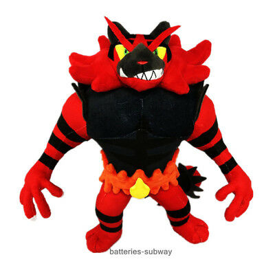 New Pokemon Center Incineroar Cute Pokedoll Stuffed Plush Doll Toy 31cm 12""