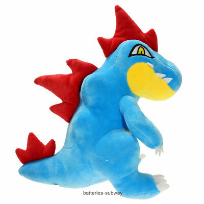 New Pokemon Center Feraligatr  Cute Pokedoll Stuffed Plush Doll Toy 30cm 12""