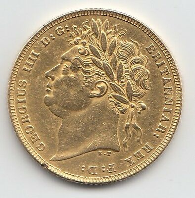 1821 George IV Gold Sovereign - Great Britain.
