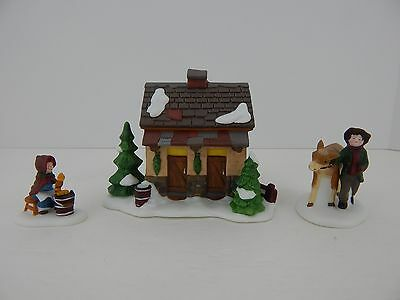 Dept 56 Dickens Village Tending the New Calves #58395 D56 DV Good Condition 2