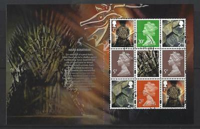 Great Britain 2018 Game Of Thrones Definitive Pane Fine Used
