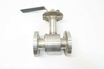 Tbv 15S18150 Stainless Flanged Ball Valve 1-1/2in 150