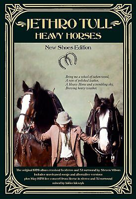 Jethro Tull - Heavy Horses (New Shoes Edition)  4 Cd+Dvd Neu