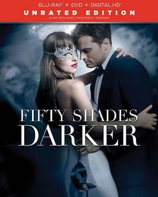 Fifty Shades Darker New Blu-Ray/Dvd