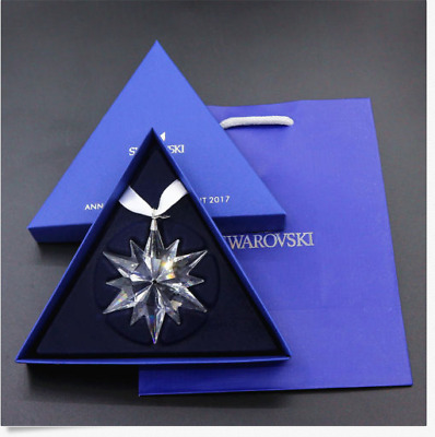 Swarovski 2017 Annual Edition Snowflake Ornament- New In Box