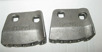 New Lot of 2 PENGO Heavy Duty Shank Plates Without Teeth & Bolts 156323