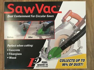 Bosch Hitachi Milwaukee Rigid Skil- Circular Saw Muzzle - Saw Vac - Dustless