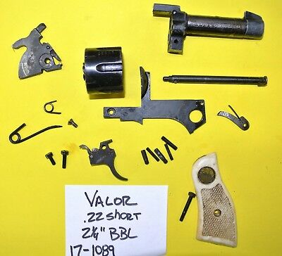 RG 23 IN 22 Lr  Revolver Gun Parts Lot All The Pictured Parts 4 One