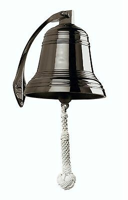 "Brass Ship's Bell 8"" - Reproduction"
