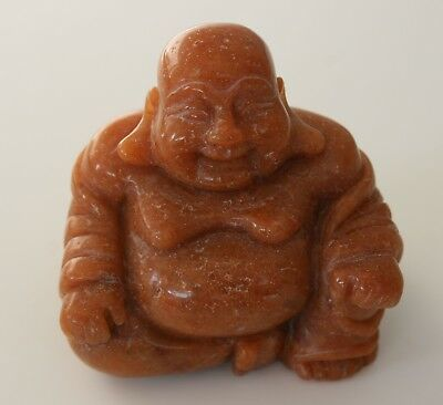 Edelstein Buddha  Aventurin Orange