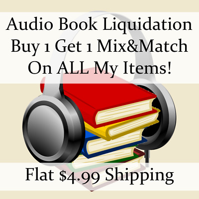 Used Audio Book Liquidation Sale ** Authors: S-S #102 ** Buy 1 Get 1 flat ship