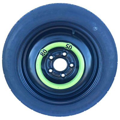 Spare Wheel 125/80-17 For Audi A3 Cabriolet 2008 > 08/2012 40D