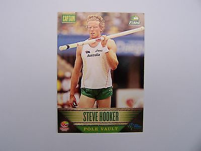 2011 Flame Athletics Champions Card - #9 Steve Hooker Pole Vault