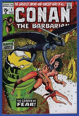 Conan The Barbarian #9 Nm+ 9.6 Gorgeous Glossy High Grade Bronze Age Marvel