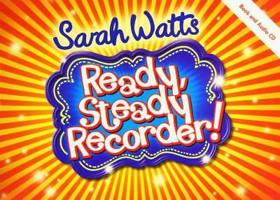 Ready Steady Recorder Student Book (Music Book) by Watts, Sarah | Paperback Book