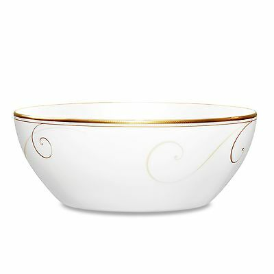 NORITAKE GOLDEN WAVE Chocolate Round Vegetable Bowl - $76.00 | PicClick