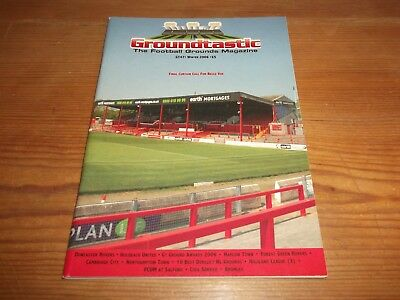 Groundtastic The Football Grounds Magazine GT47 Winter 2006 Ft Doncaster Bromley