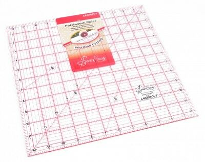 Sew Easy Patchwork Quilting Ruler - each (NL4178)