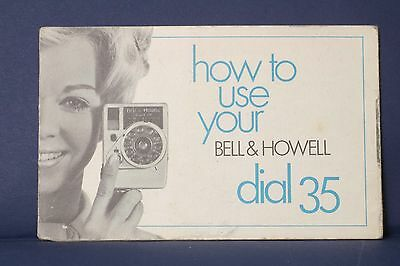 F69327~ Bell & Howell Dial 35 Camera Instruction manual – 15 Pages