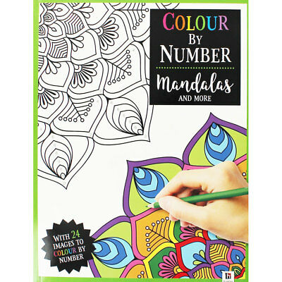 Colour By Number Mandalas and More by Hinkler (Paperback), Children's Books, New