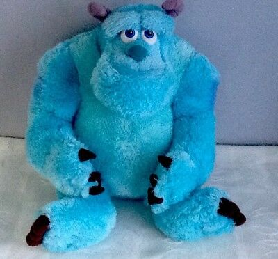 """Monsters Inc / Monsters University SULLY Soft Plush Toy. Disney Store 15"""""""
