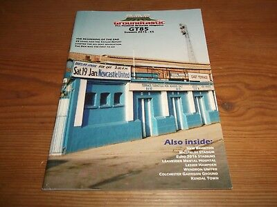 Groundtastic The Football Grounds Magazine GT85 Summer 2016 Ft Colchester Kendal