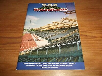 Groundtastic The Football Grounds Magazine GT54 Autumn 2008 Ft Rotherham Wisbech
