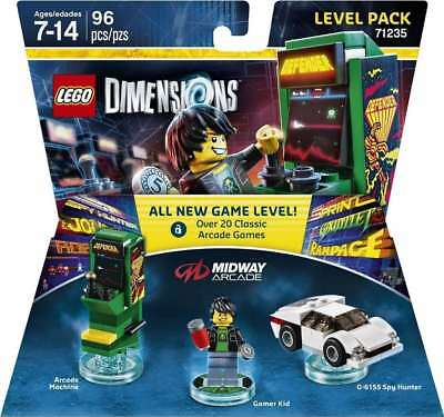 Midway Retro Gamer Level Pack - Lego Dimensions, New