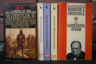 Complete History of the English Speaking Peoples Lot 5 PB Winston Churchill