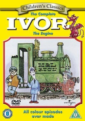 Complete Ivor Engine All Colour Episodes Ever Made Dvd Region 2 New