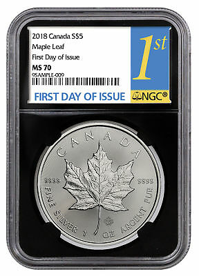 2020 Canada 1 oz Silver Maple Leaf $5 Coin NGC MS69 FR Exclusive Label SKU59996
