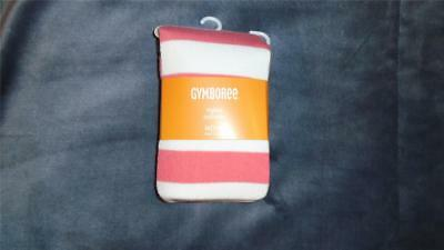 NEW Girls Size M 7-8 Gymboree Tights 2016 Kitty In Pink Line Striped NWT