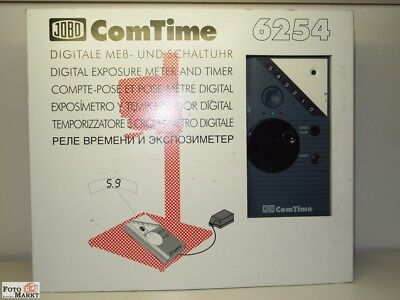 Jobo ComTime 6254 Digitale Mess-und Schaltuhr Digital Exposure Meter and Timer