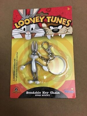 Looney Tunes Bugs Bunny Bendable Key Chain