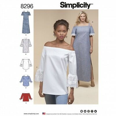 Simplici... Simplicity Easy Sewing Pattern 1391 Doll Clothes Historical Dresses