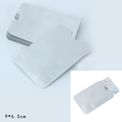 20x New Credit Card Holder Protective Case Shield RFID Blocking Secure Sleeves