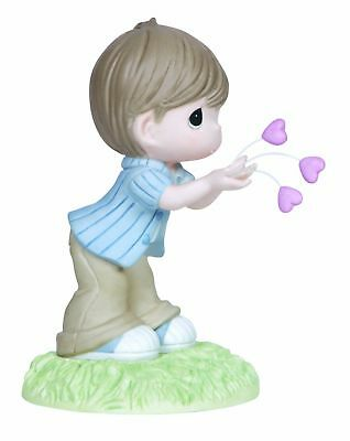 Precious Moment I Give You All My Love, Bisque Porcelain Figurine Gift 133003