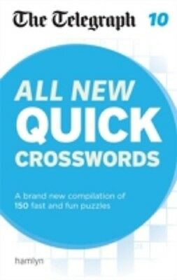 The Telegraph / All New Book Of Quick Crosswords 10 9780600633181