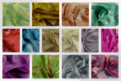Two Tone Crystal Organza Dress Fabric (TTORG-M)