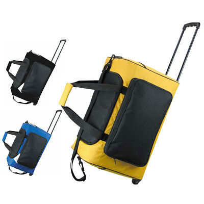 Picnic Roller Trolley Cooler Bag Backpack Telescopic Handle Travel Carry Cool