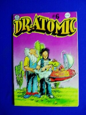 Dr  Atomic 6. Underground comic by Larry Todd 1981. 1st. VFN.