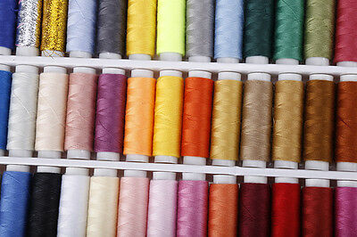 39 Colour Reel Spools Quality Sewing Yarn Pure All Purpose Thread Polyester