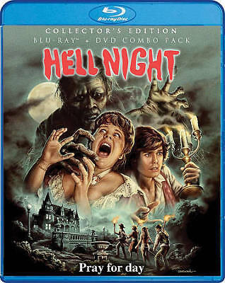 Hell Night (Blu-ray+DVD, 2018; Scream Factory Collector's Ed.) NEW w/ Slipcover