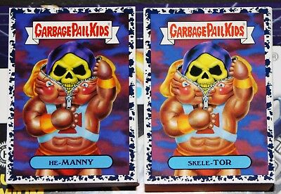 db7c8ee9907 2018 Garbage Pail Kids We Hate The 80 s Complete Bruised Set 180 Cards  Collector