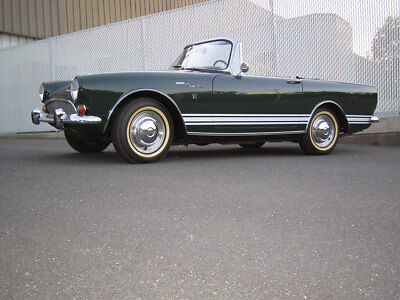 1967 Sunbeam Tiger  1967 Mark II Sunbeam Tiger Convertible 289 V8 4 Speed w/ Cert of Authenticity
